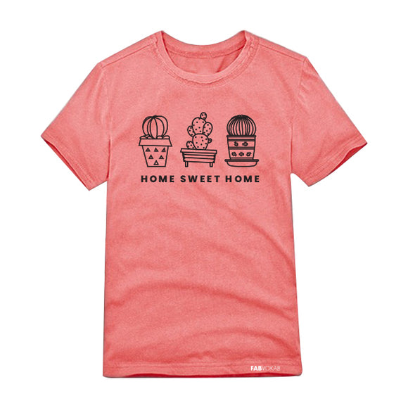 HOME SWEET HOME Kids, Teen Short Sleeve T-shirt