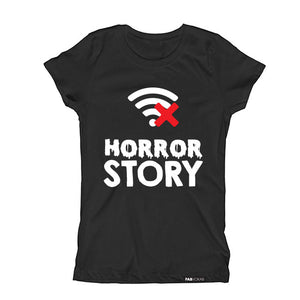 HORROR STORY HALLOWEEN Short Sleeve T-shirt for kids - FABVOKAB