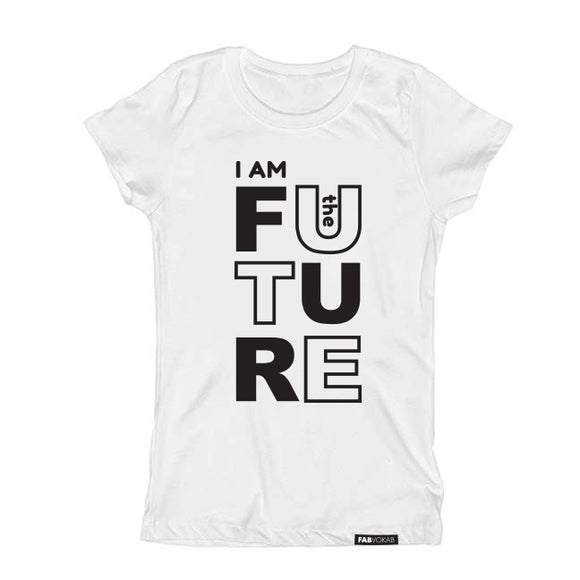 I AM THE FUTURE Short Sleeve Kids Teen T-shirt