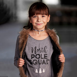 NORTH POLE SQUAD RAW EDGES TUNIC - FABVOKAB