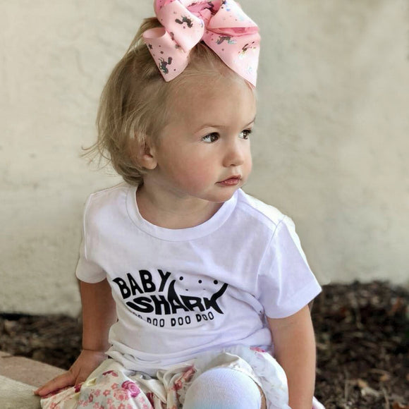 BABY SHARK Short Sleeve T-shirt - FABVOKAB