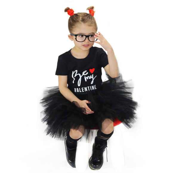 BE MY VALENTINE Kids Short Sleeve T-shirt - FABVOKAB