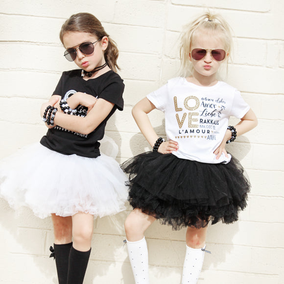 BLACK GIRLS TUTU SKIRT - FABVOKAB