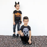 404 ERROR TREATS NOT FOUND HALLOWEEN Short Sleeve T-shirt for kids