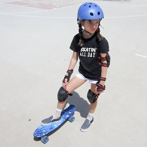 SKATIN' ALL DAY SKATER SHIRT  Short Sleeve T-shirt - FABVOKAB