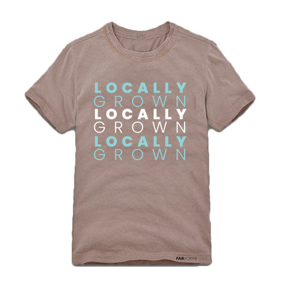 LOCALLY GROWN Kids, Teen Short Sleeve T-shirt