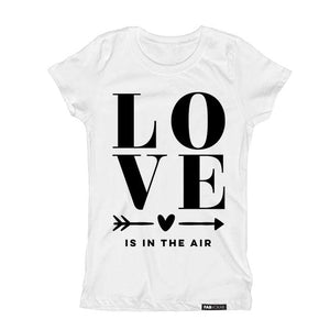 LOVE IS IN THE AIR Short Sleve T-shirt - FABVOKAB