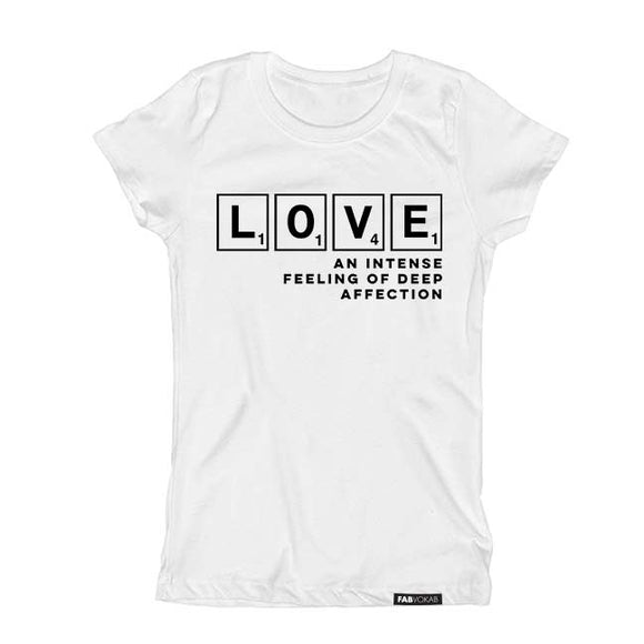 LOVE affection Short Sleeve T-shirt - FABVOKAB