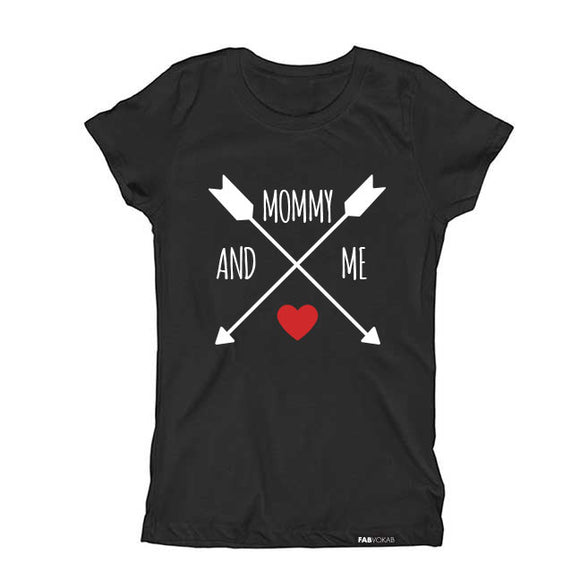 MOMMY AND ME Short Sleeve KidsT-shirt - FABVOKAB