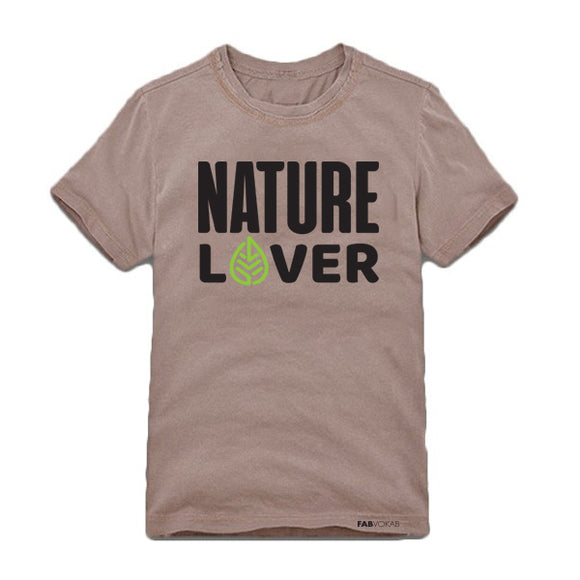 NATURE LOVER  Kids, Teen Short Sleeve T-shirt