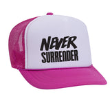 PINK AND WHITE KIDS Snapback Trucker Hat (few designs available) - FABVOKAB