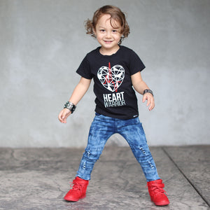 HEART WARRIOR Short Sleeve T-shirt - FABVOKAB