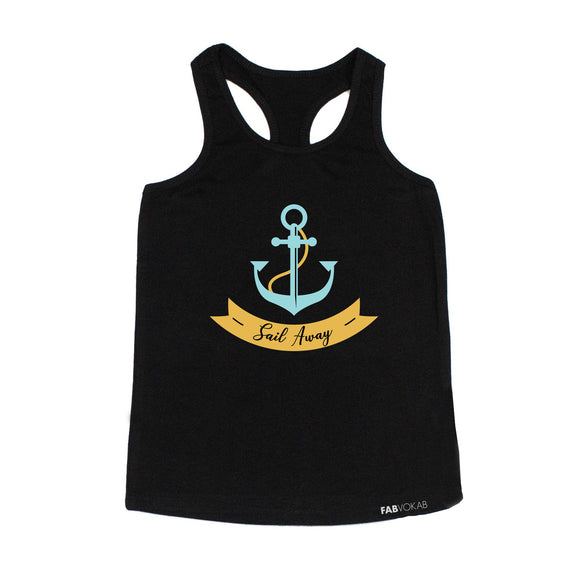 SAIL AWAY Kids Tank Top - FABVOKAB