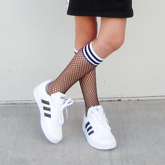 ANKLE GIRLS FISHNET SOCKS - FABVOKAB