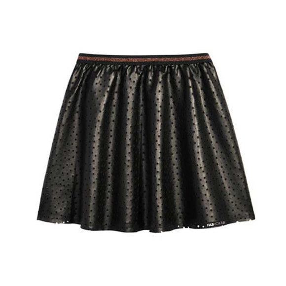 BLACK GIRLS STAR SKIRT - FABVOKAB