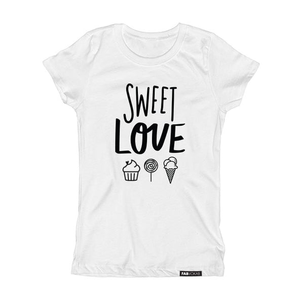 SWEET LOVE affection Short Sleeve T-shirt - FABVOKAB