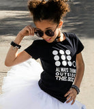 ALWAYS THINK OUTSIDE THE BOX Short Sleeve T-shirt - FABVOKAB