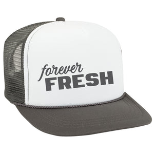 GREY AND WHITE KIDS Snapback Trucker Hat (few designs available) - FABVOKAB