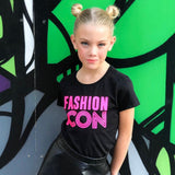 FASHION ICON NEON GREEN OR PINK Short Sleeve T-shirt
