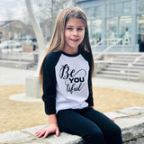 BE YOU TIFUL RAGLAN - FABVOKAB