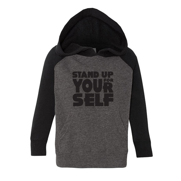 STAND UP FOR YOURSELF UNISEX HOODIE - FABVOKAB
