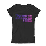 The Universe is within ME Kids Galaxy design Short Sleeve T-shirt - FABVOKAB