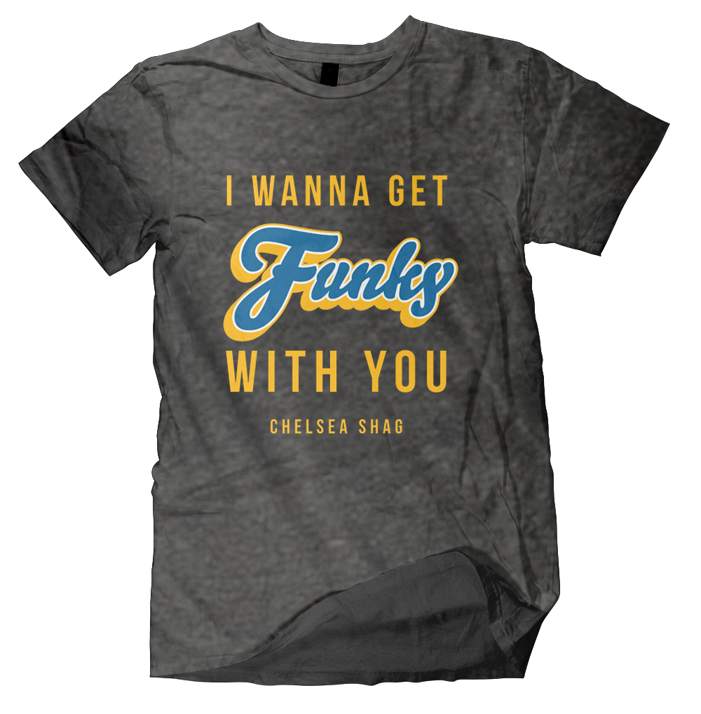 Funky With You Tee - Grey