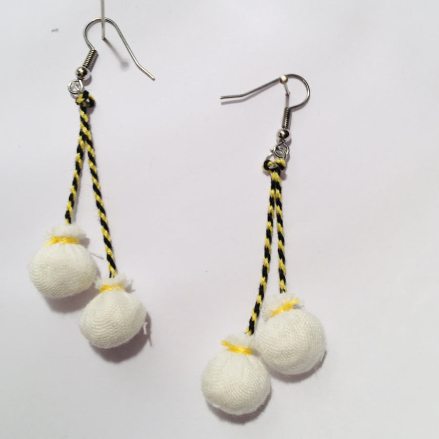 Handmade Poi Earrings