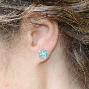 Forget Me Not Studs
