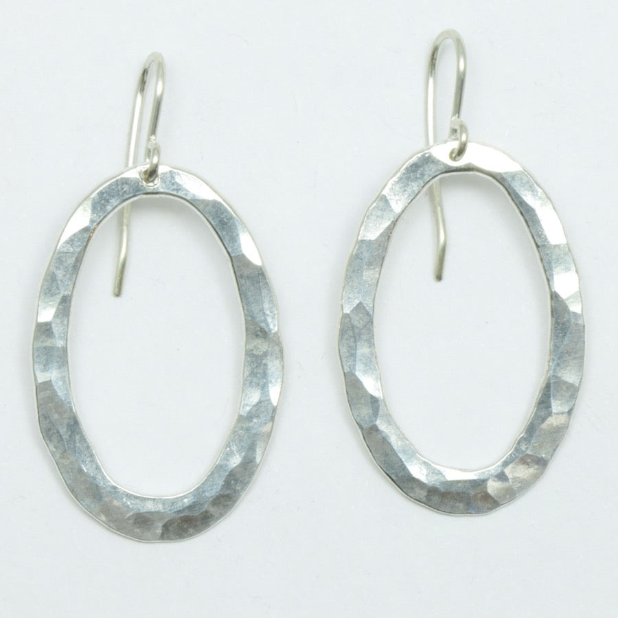 Oval Pīrori Earrings