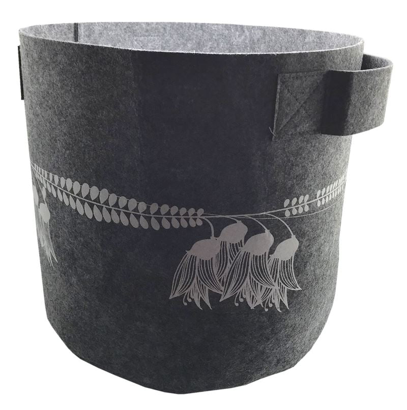 7 Gallon Ecofelt bag - Grey Kowhai