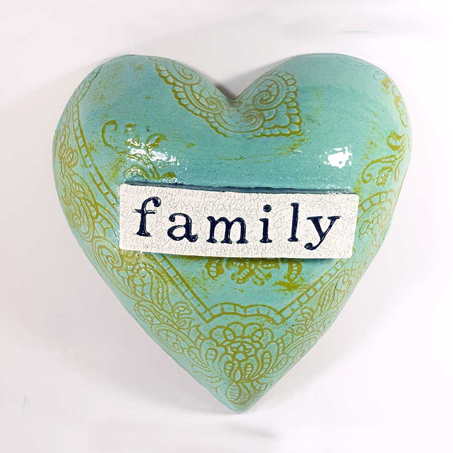 'Family' Heart - large