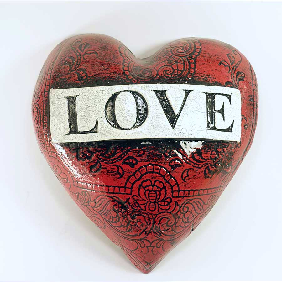 'Love' Heart - large