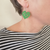 Rimu Kawakawa Leaf Earrings