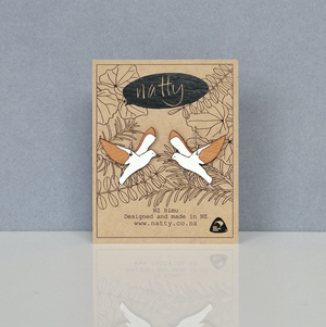 Rimu Seagull Earrings