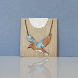 Rimu Seagull Necklace
