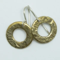 Brass Piori Earrings