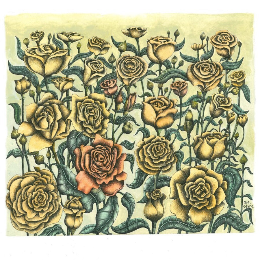 'Roses' Limited Edition Print