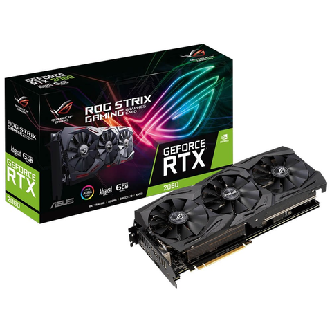 Asus Rog Strix Rtx2060 A6 G Gaming Tarjeta De Video Gddr6 6 Gb