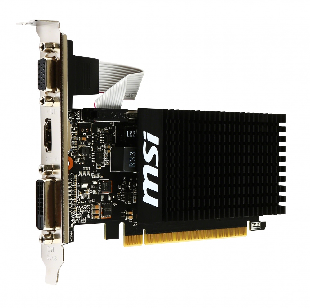 MSI NVIDIA Tarjeta de Video GeForce GT 710, 1GB, PCI Express 2.0 - ordena-com