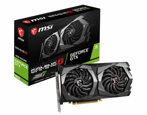 Nvidia Tj Video Msi 4gb Gtx 1650 Gaming X Gddr5 128bit