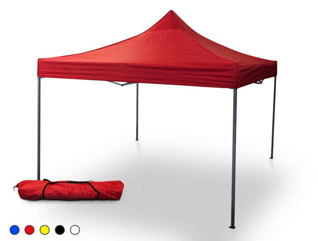 Onof Told3 Bag Toldo Plegable 3x3 Mts C/Bolsa Transportadora Color Rojo