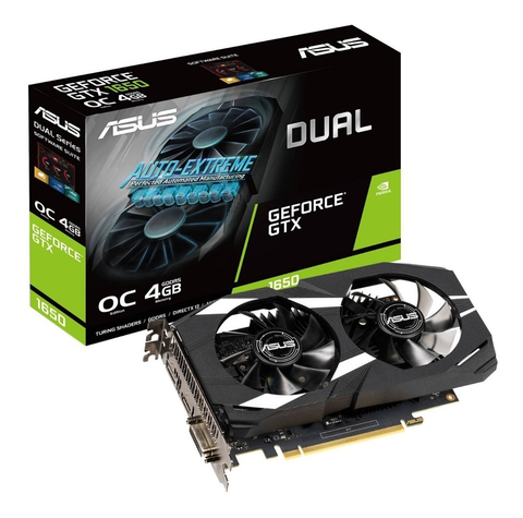 Tarjeta De Video Asus Dual Gtx1650 O4 G Geforce Gtx 1650 4 Gb - ordena-com