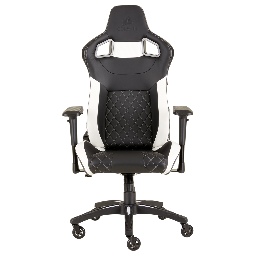 Silla Gaming Corsair T1 Race Reclinable 4 D Negro Blanco - ordena-com