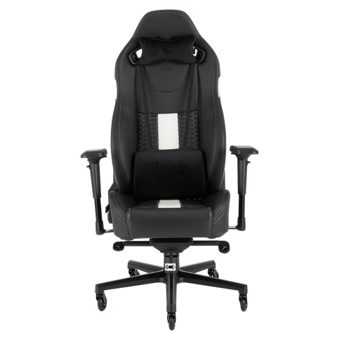 Silla Gaming Corsair T2 Road Reclinable 4 D Negro Blanco - ordena-com