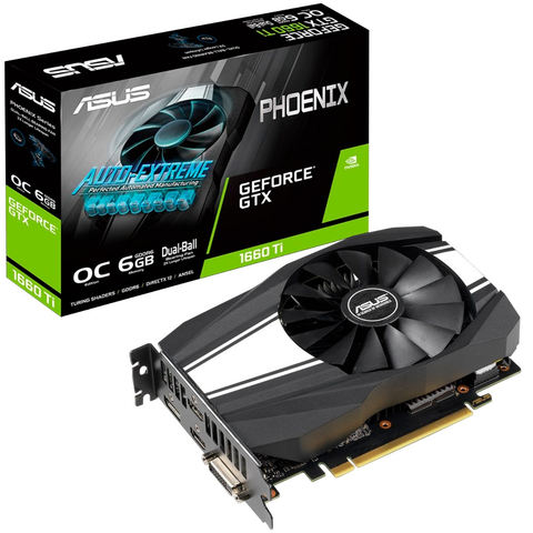 Asus Ph Gtx1660 Ti O6 G Tarjeta De Video 6 Gb 192 Bit Pcie 3.0