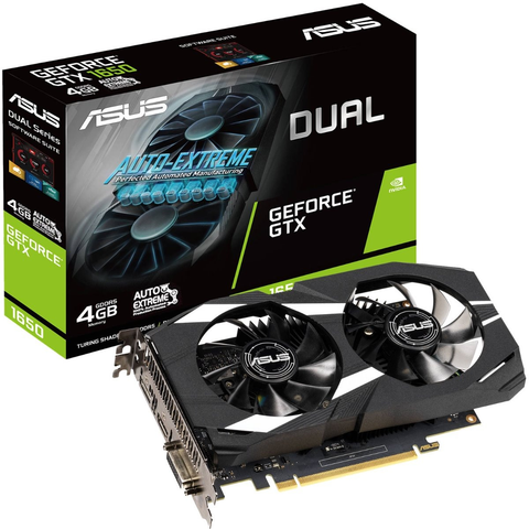 Tarjeta De Video Asus Dual Gtx1650 4 G Geforce Gtx 1650 4gb - ordena-com