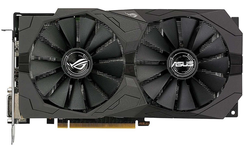 Tarjeta De Video Asus Rog Strix Rx570 O4 G Gaming 4 Gb Gddr5 - ordena-com