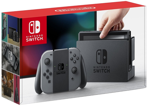 Nintendo Consola Switch Color Gris Version Estandar - ordena-com