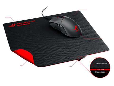 Asus Mouse Pad Rog Whetstone, 32 X 27 - ordena-com